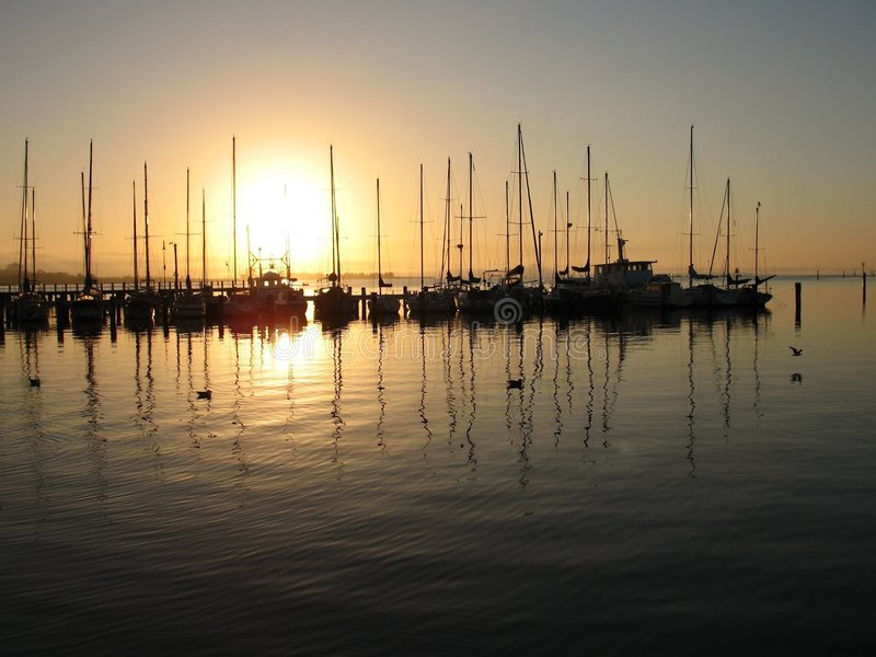 Daybreak stock photography