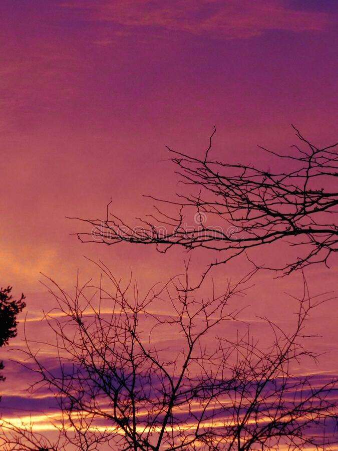 Daybreak - Morning Sunrise stock afbeelding