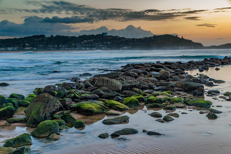 Download Daybreak Seascape stock photo. Image of nature, central - 91223730