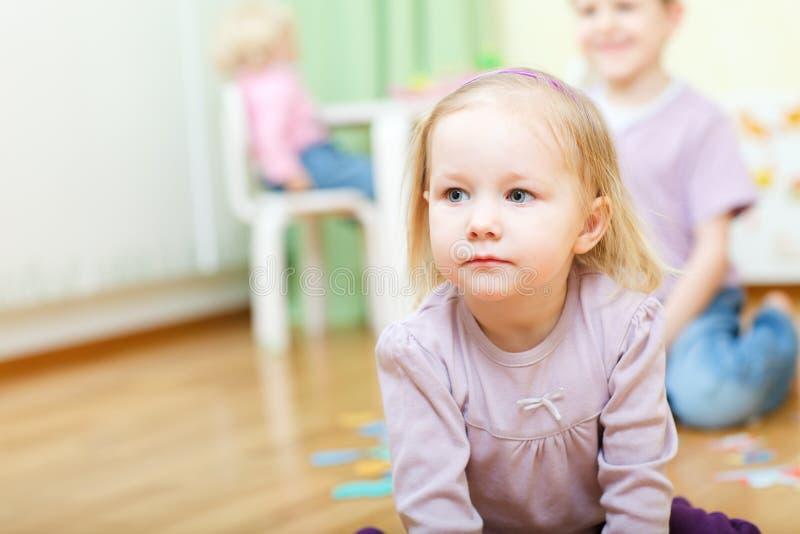 daycare żartuje dwa obraz royalty free