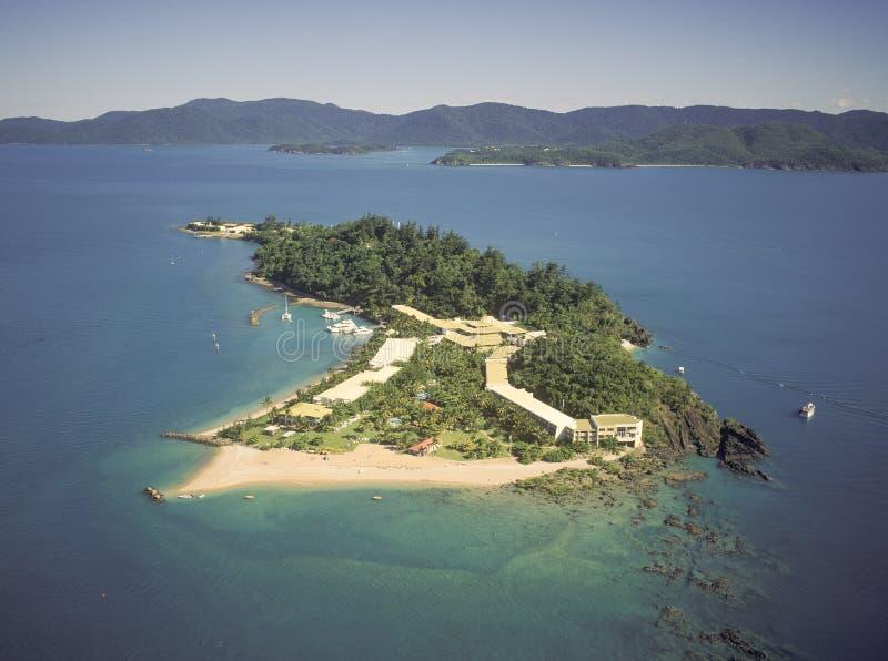Daydream island stock photos