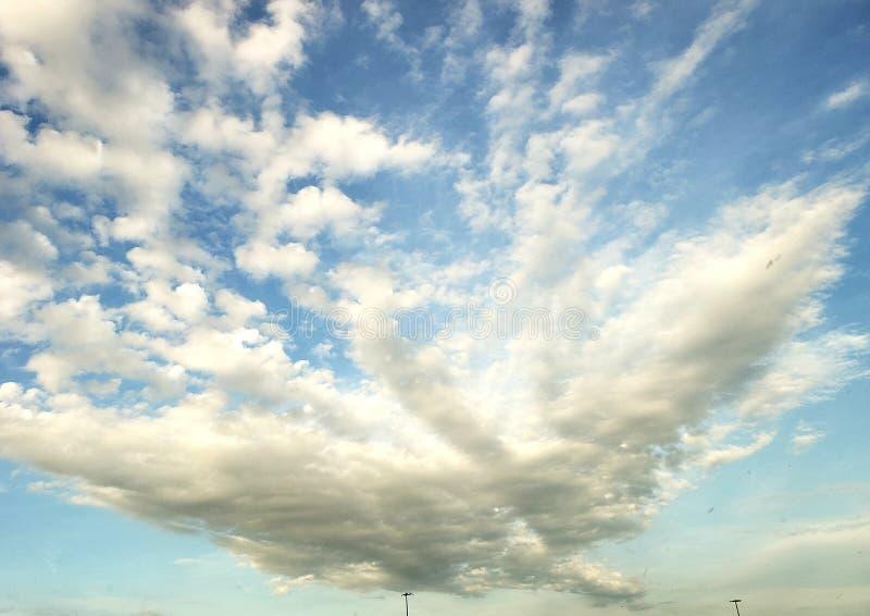 Daydream skylines royalty free stock photos
