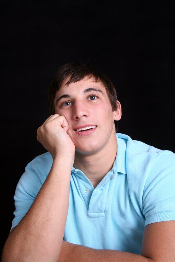 daydreaming детеныши человека стоковые фотографии rf