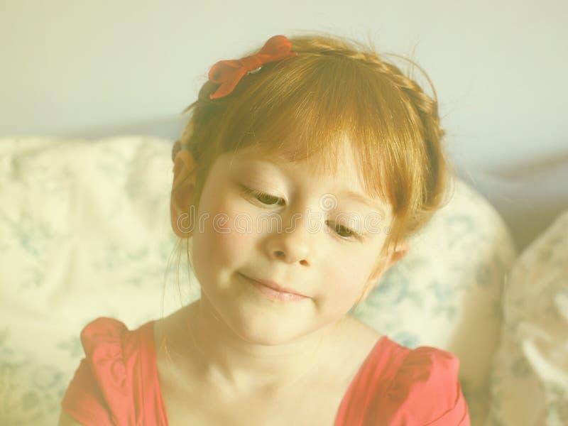 Daydreaming детство стоковое изображение