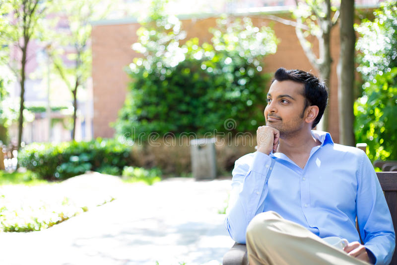 daydreaming imagens de stock royalty free