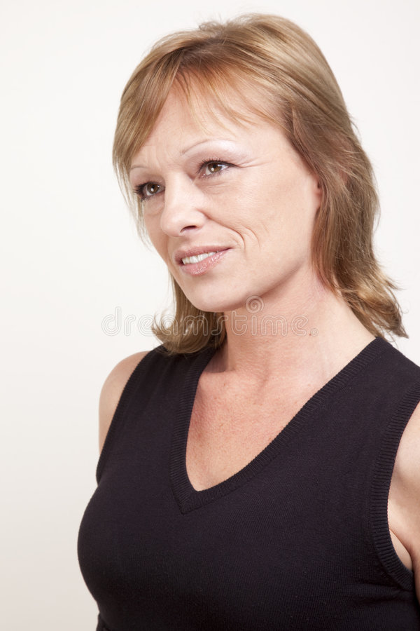 Download Daydreaming stock photo. Image of upward, woman, blond - 8007324