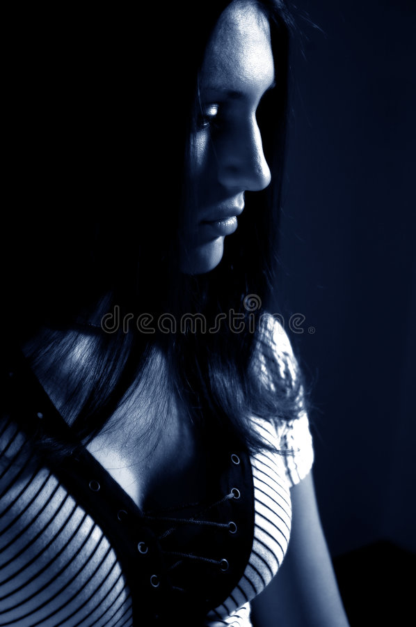 Free Daydreaming Brunette Stock Photo - 293860