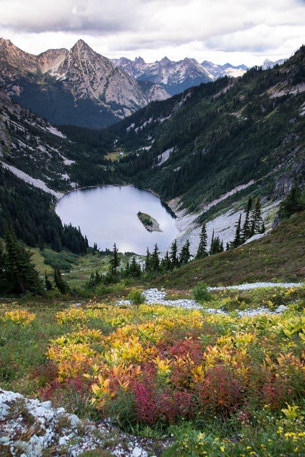 Daylight, Fall, Lake stock image