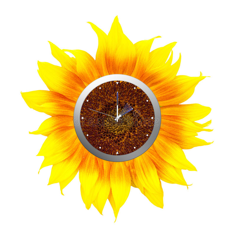 Daylight savings time, clocks forward into summer, summertime. royalty free stock photos