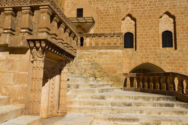 Dayro Mor Hananyo monaster Mardin obraz stock