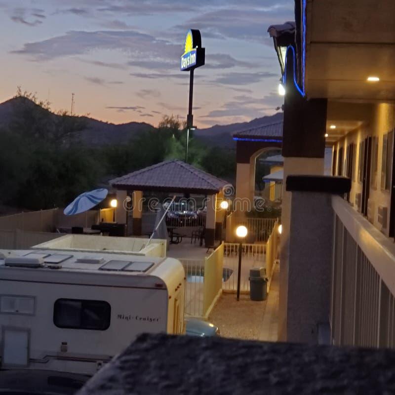 Days Inn Buckeye Arizona Mountain View royalty free stock photo