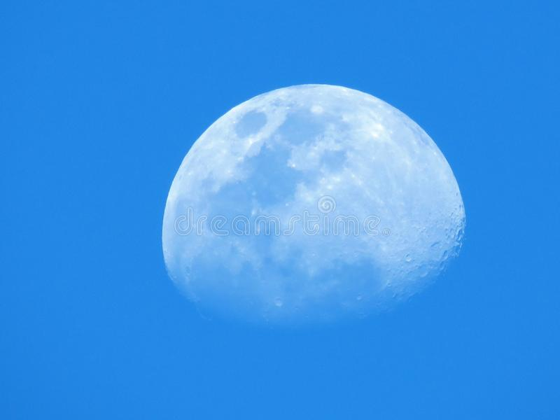 Daytime, Blue, Sky, Moon stock images