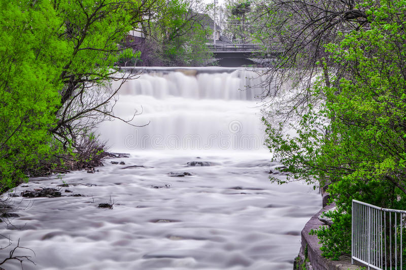 Rock Glen Falls You Are Ing From Michigan This Waterfall Is Between And