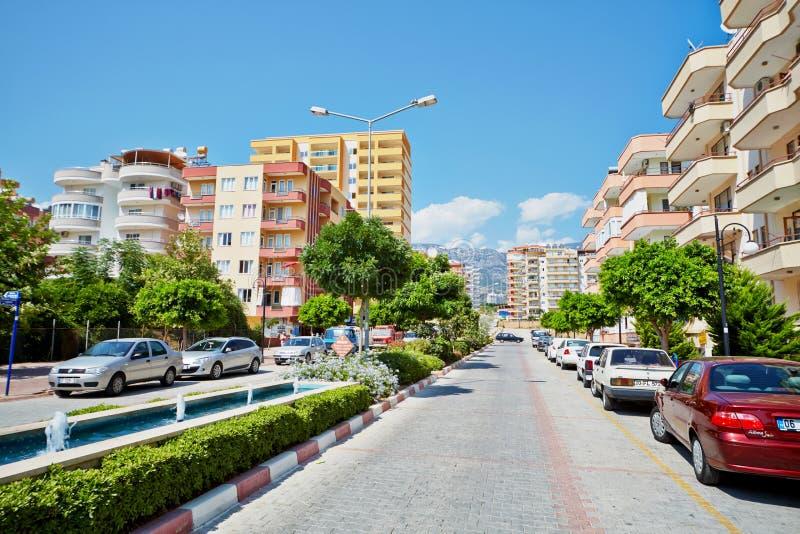 Daytime Traffic At Mehmet Cakir Street Editorial Stock Photo