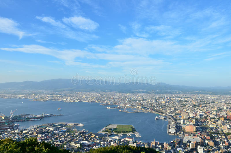 Download Daytime view of Hakodate. stock photo. Image of city - 26446116