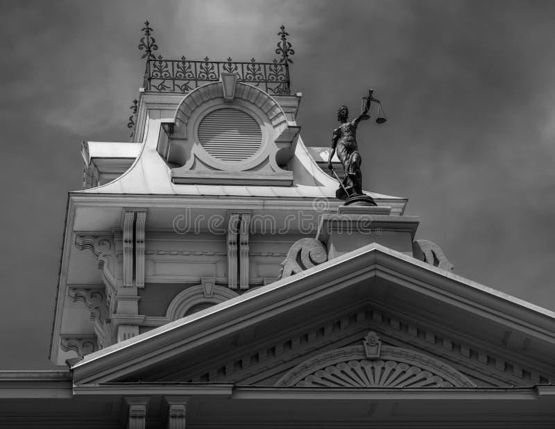 Dayton okręgu administracyjnego gmach sądu fotografia royalty free