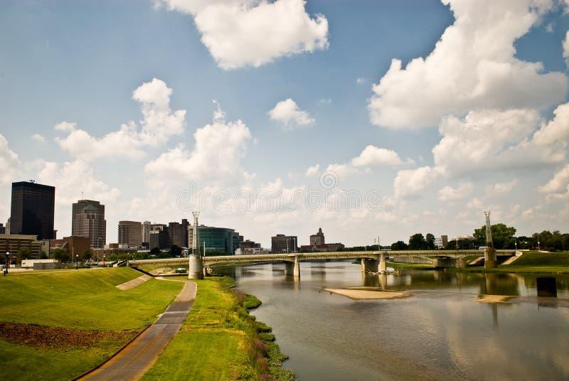 Dayton Riverscape stock afbeeldingen