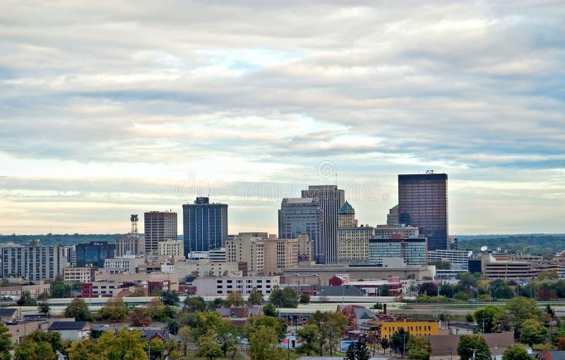 Dayton-Skyline HDR schließen lizenzfreie stockbilder