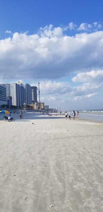 Daytona海滩岸 库存照片