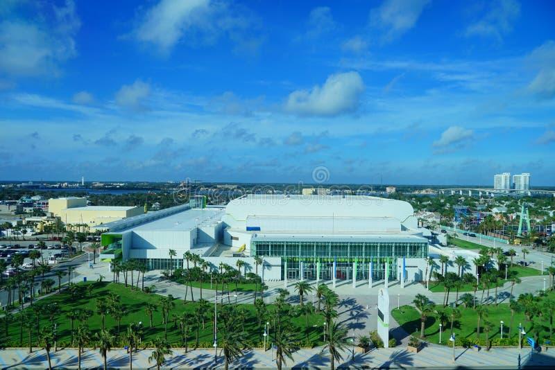 Daytona海滩会议中心 库存照片