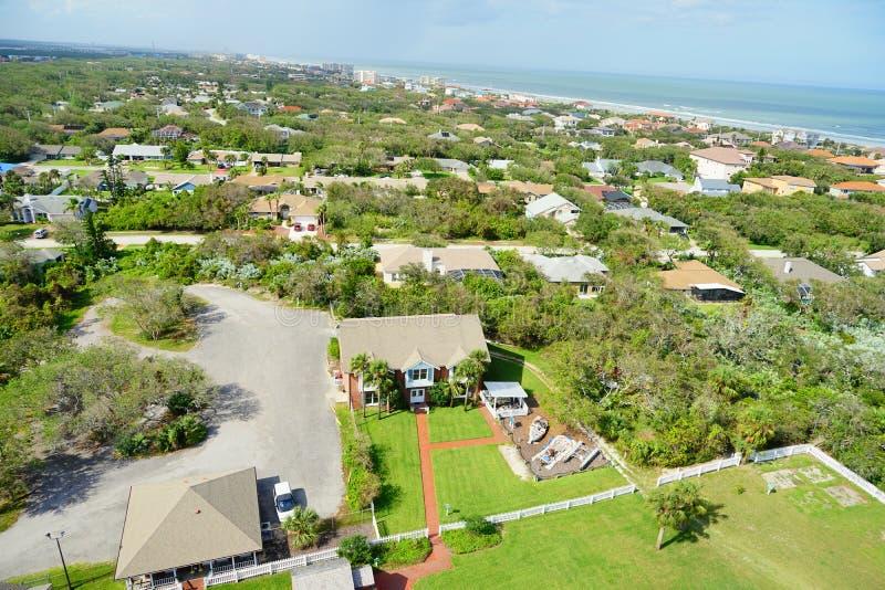 Daytona海滩风景 库存图片