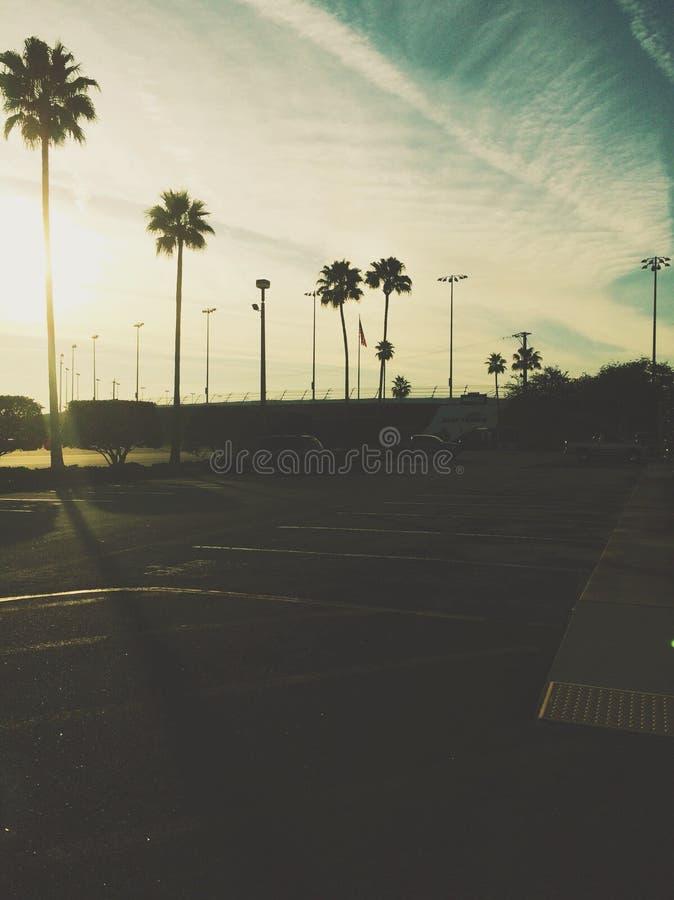 Daytona-Abende lizenzfreies stockbild