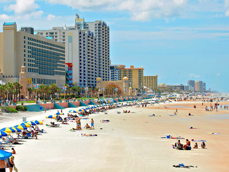Daytona Beach foto de archivo