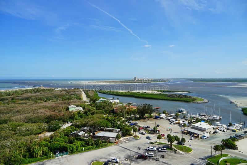 Daytona Beach em Florida imagens de stock