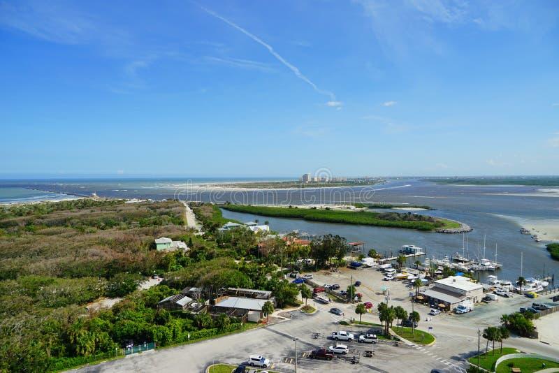 Daytona Beach in Florida stock afbeeldingen