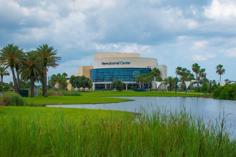 News Jornal Center in Riverfront area 2. Daytona Beach Florida. July 07, 2019 News Jornal Center in Riverfront area 2 stock image