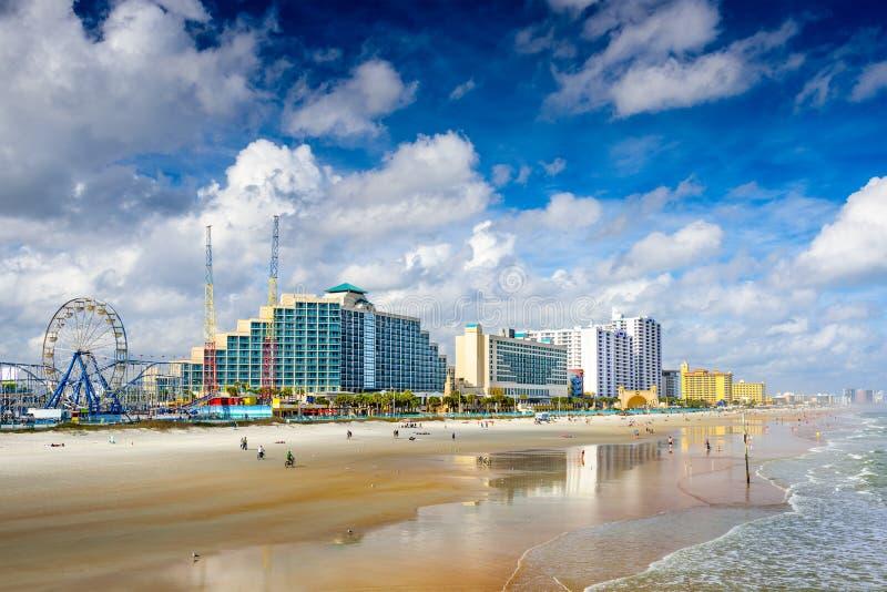 Daytona Beach Florida. Daytona Beach, Florida, USA beachfront skyline stock photography