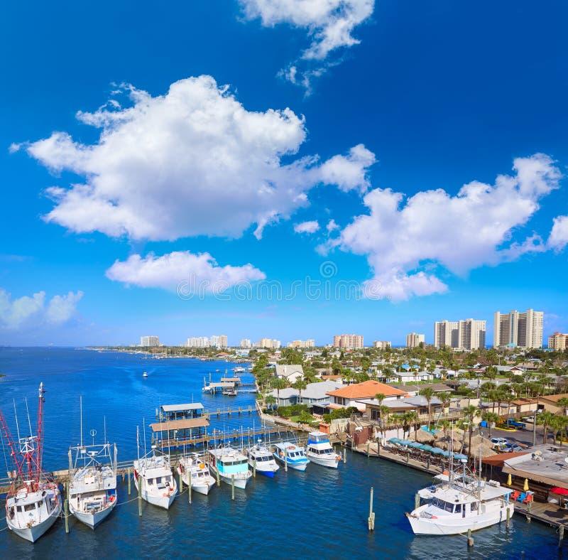 Daytona Beach in Florida van Haven de Oranje V.S. royalty-vrije stock foto's