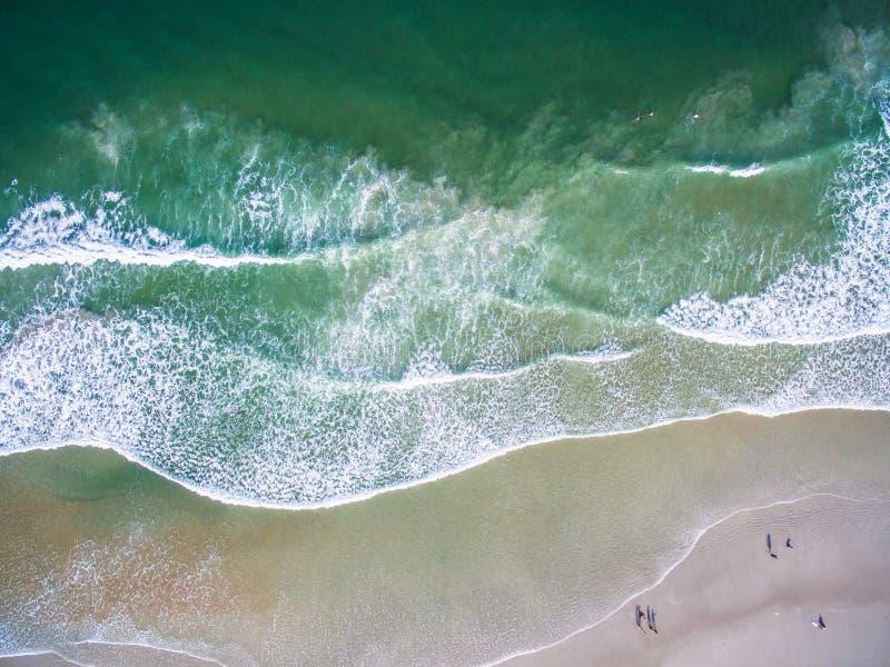 Daytona Beach från luften arkivbilder