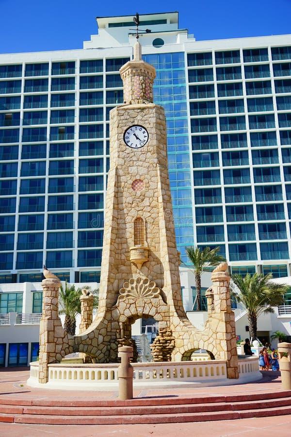 Daytona Beach tower in Florida stock photos
