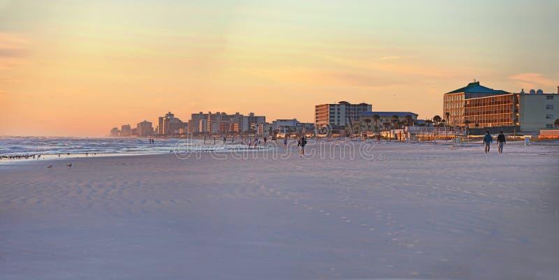 Daytona Beach, Skyline Floridas, USA stockbild