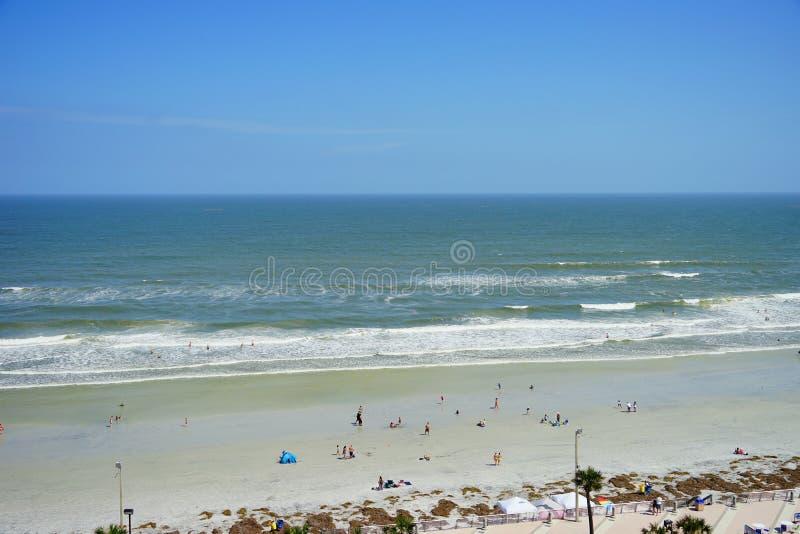 Daytona Beach wave. Florida, USA royalty free stock photo