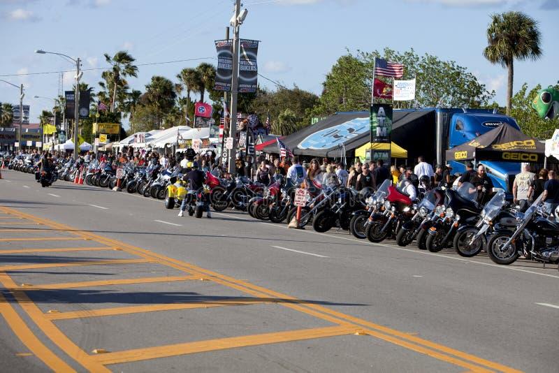 Daytona Bike Week. Bike Week in Daytona Florida stock photography