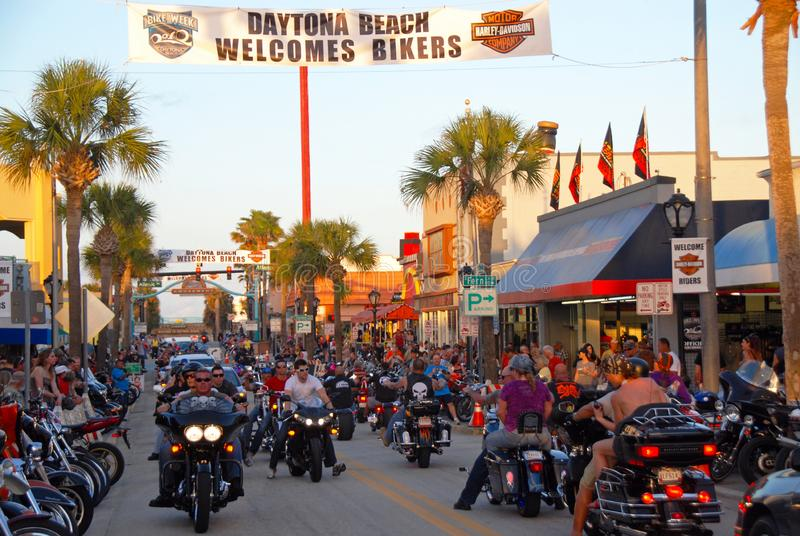 finest selection e1f48 546d9 Daytona Fahrrad-Woche redaktionelles stockfoto. Bild von ...