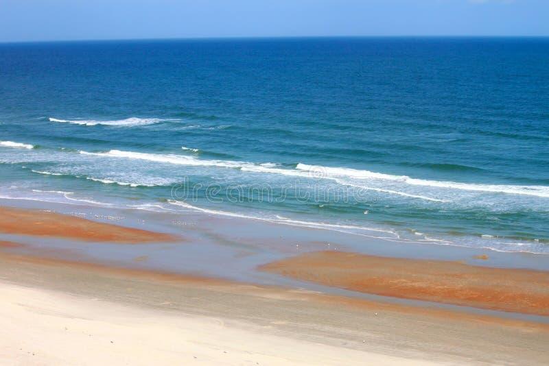 daytona florida пляжа стоковые изображения rf