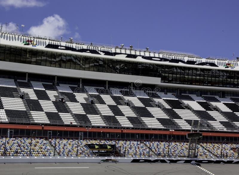 Daytona Internationale Speedwaybaan stock afbeelding