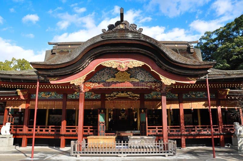 Dazaifu-Schrein, Fukuoka, Japan lizenzfreie stockbilder