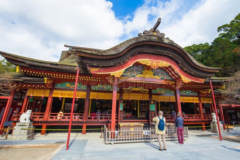 Dazaifu Tenman-gu en Fukuoka, Japón foto de archivo