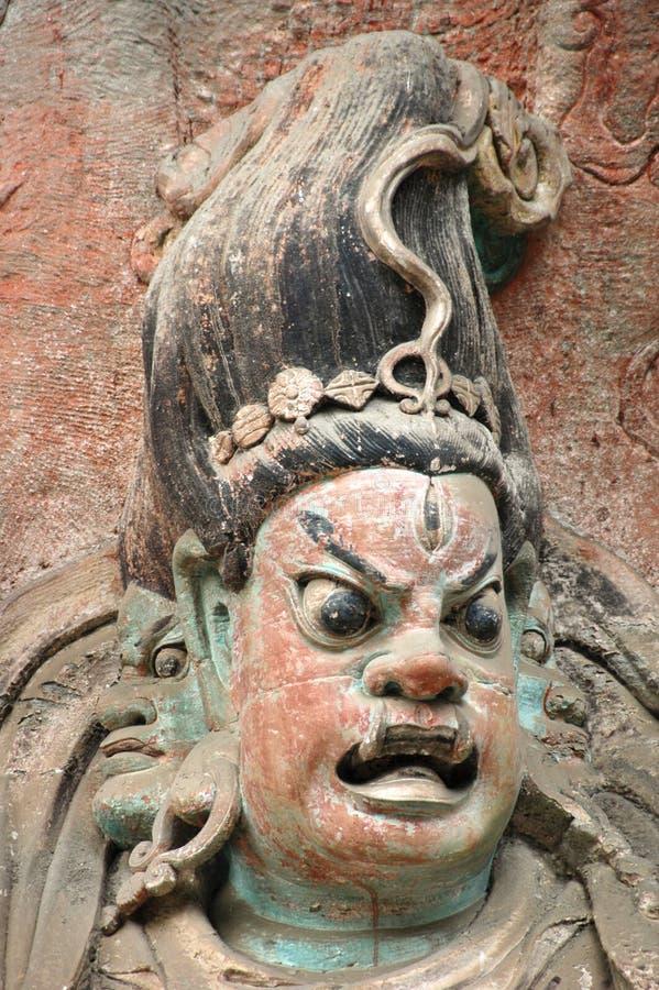 Dazu Rock Carvings, China royalty free stock photos