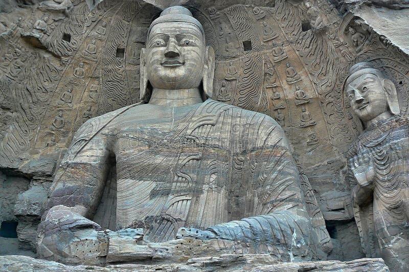 DAZU COUNTY, SICHUAN PROVINCE – CHINA, CIRCA APRIL 2013: the Dazu Rock Carvings in Sichuan province in China. Dazu Rock Carvings in Sichuan province in stock image
