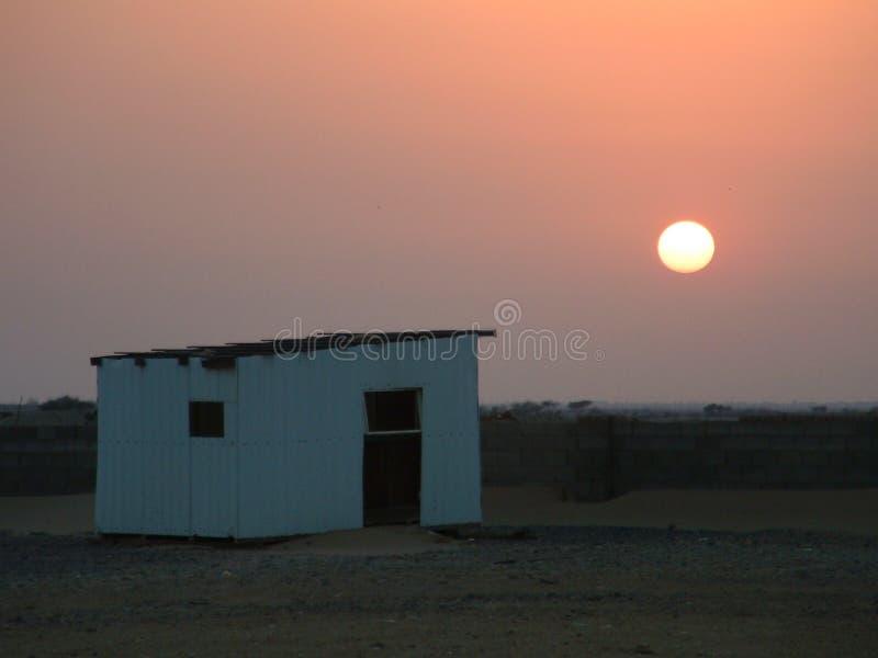 dazzeling的沙漠 免版税库存图片