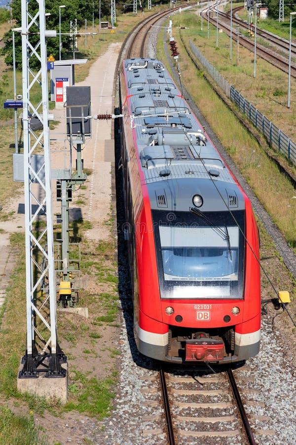 DB Regio train royalty free stock image