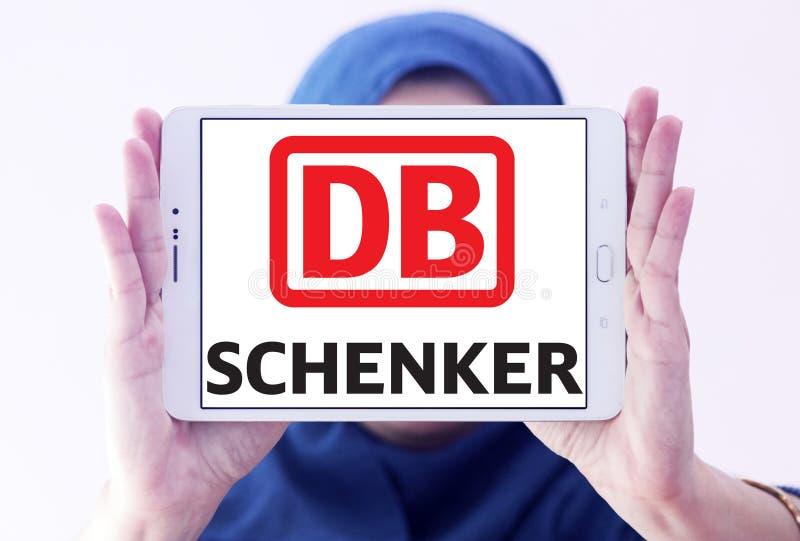 DB Schenker towarzystwa żeglugowe pocztowy logo obrazy royalty free