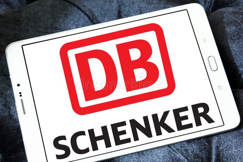 DB Schenker towarzystwa żeglugowe pocztowy logo obraz stock