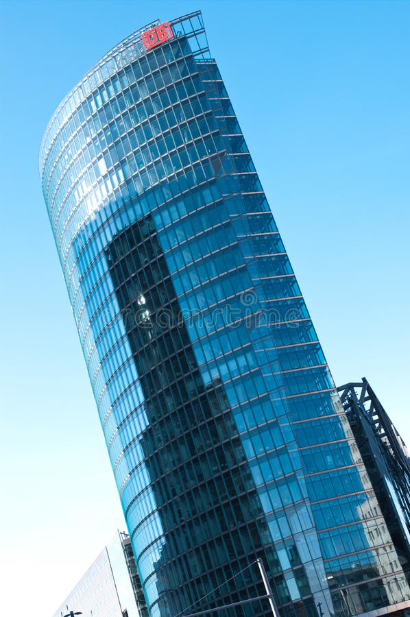 Download DB Tower, Berlin editorial stock photo. Image of highrise - 16694048