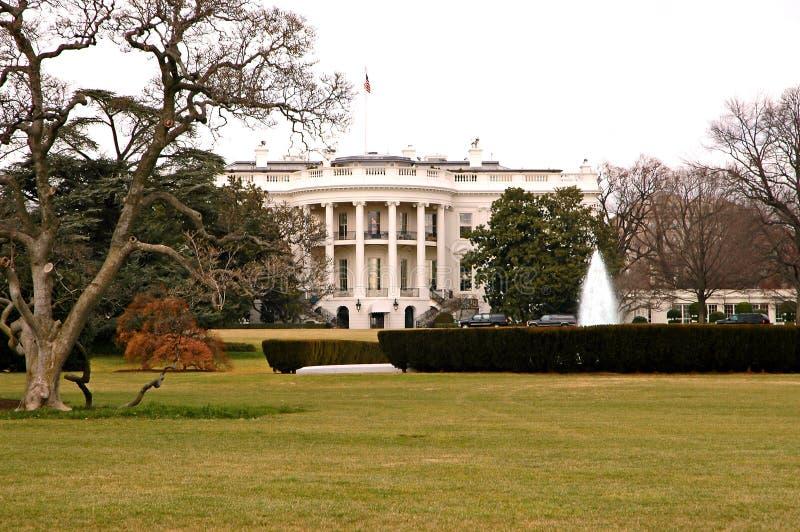 dc房子草坪南华盛顿白色 库存图片